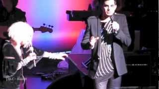 Cyndi Lauper & Adam Lambert - Mad World - Home for the Holidays Charity Concert - NYC