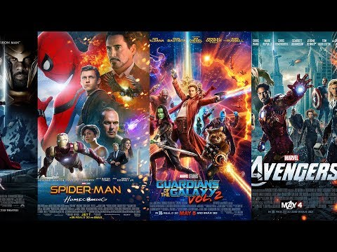 Marvel Cinematic Universe Poster Rankings (Worst to Best)