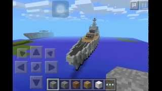 Uss missouri minecraft pe :)