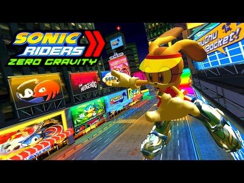 Sonic Riders Zero Gravity - '90s Boulevard - Cream 4K 60 FPS