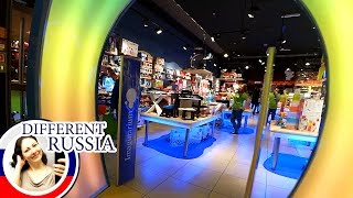 Moscow Life: Where do Ordinary People Go Shopping? Inside Huge Shopping Mall / ep. 1