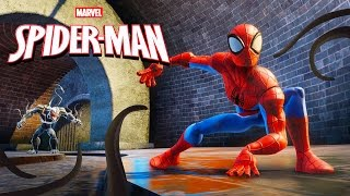 Spiderman Disney Infinity 2.0 Marvel Super Heroes - Spider Man Superhero Game Videos
