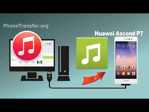 [iTunes to Huawei]: How to Sync Music & Playlist from iTunes to Huawei Ascend P8, P7