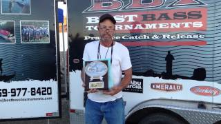 big fish winner at bbt s 2 14 2015 new melones event