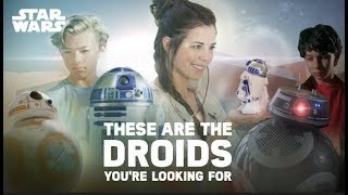 These Are The Droids You