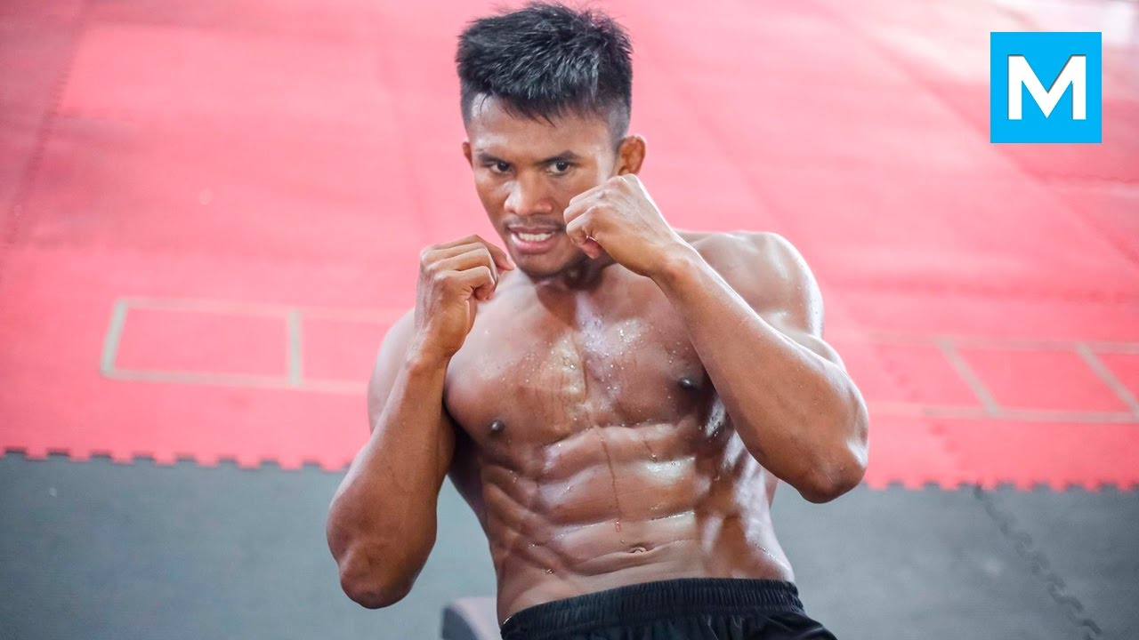 Buakaw Strength Training for Muay Thai | Muscle Madness #1