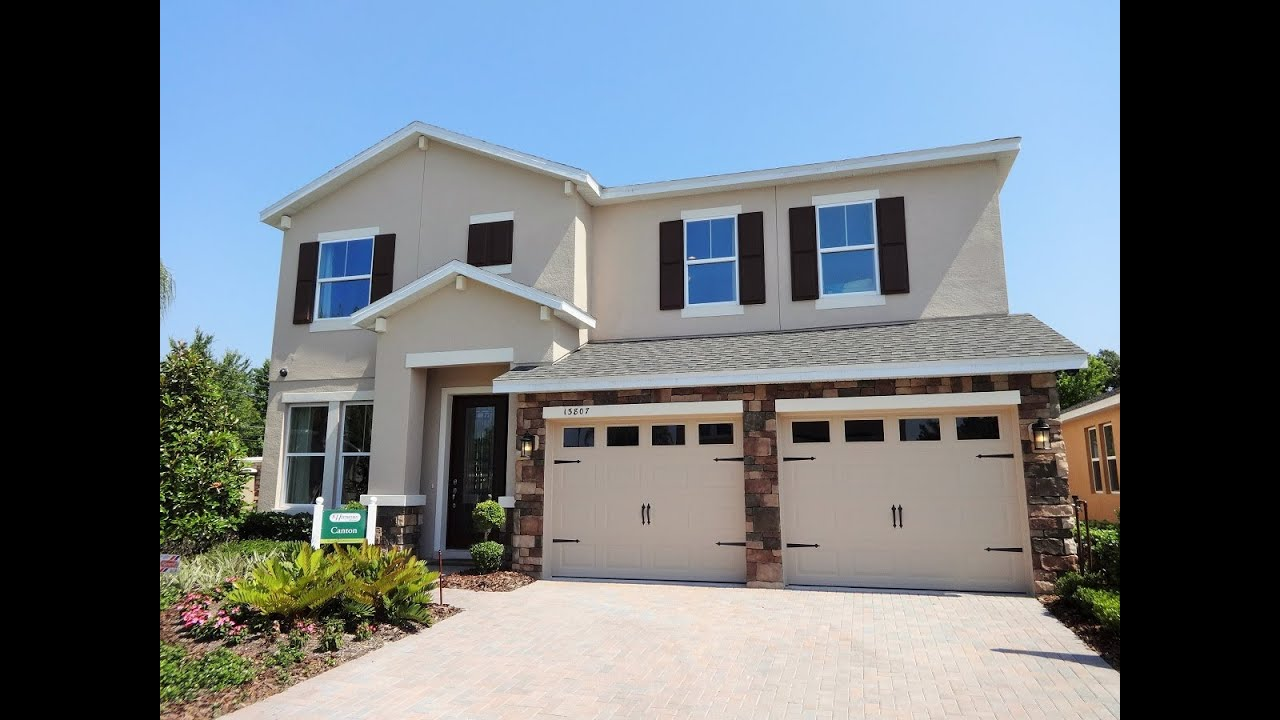 Orlando new model home for sale pickett reserve by k for New model house photos
