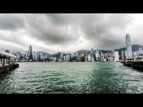 Hong Kong. A walk around the streets of Tsim Sha Tsui, Kowloon, From the Waterfront