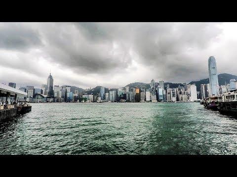 Hong Kong. A walk around the streets of Tsim Sha Tsui, Kowloon, From the Waterfront