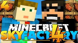Minecraft: SkyFactory 4 -MEATPOLES ARE BACK?! [4]