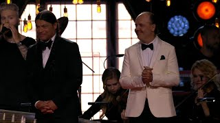 Baixar Lars Ulrich and Robert Trujillo enters the stage - Polar music prize (TV4)