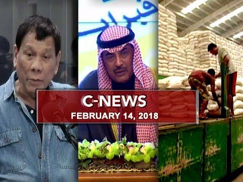 UNTV: C-News (February 14, 2018)