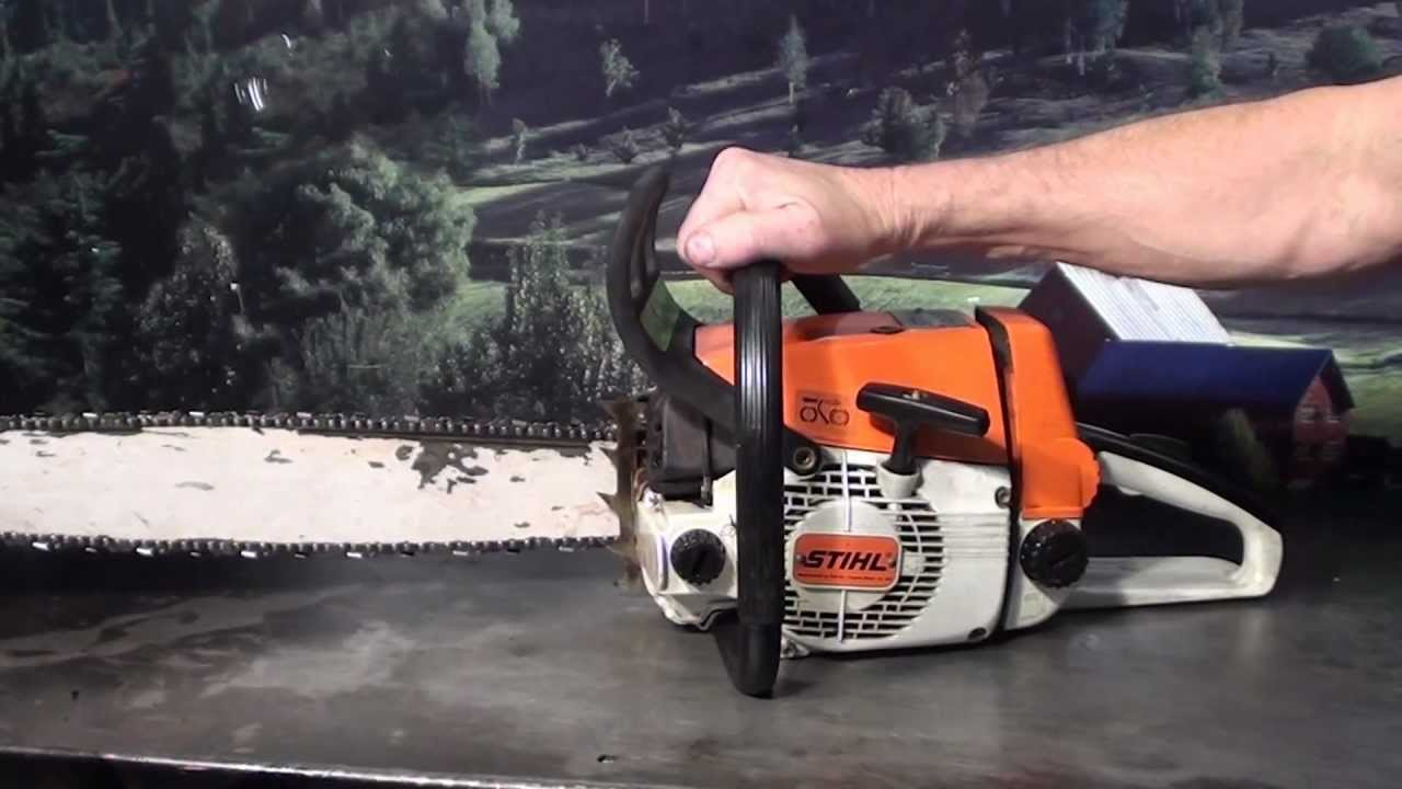 The Chainsaw Guy Talk Stihl 026 10 30