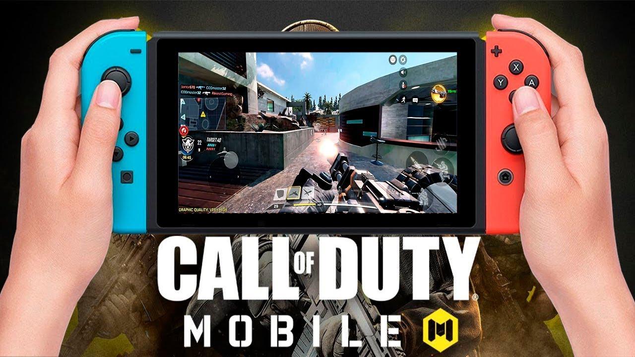 Call Of Duty Mobile No Nintendo Switch Fiquei Surpreso Youtube