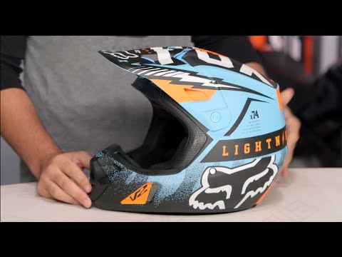 Fox Racing V2 Vicious Helmet Review at RevZilla.com