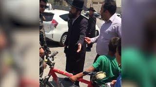 Yahudi yerleşimciler Filistinli çocuğun 'bisikletini' çaldı!