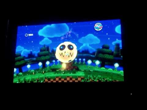 Sonic Lost World Zazz Boss Fight Part 1