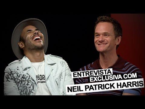 Hugo Gloss entrevista Neil Patrick Harris e falam sobre