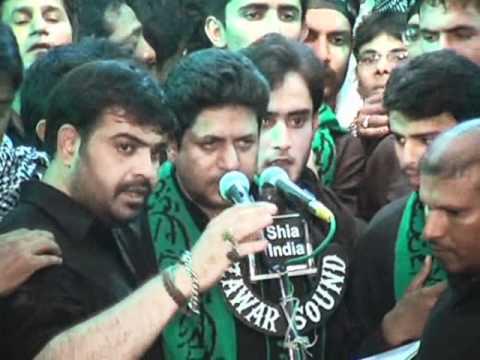 Ana Mazloom Hussain Anjuman-e-Al Abbas 8th Muharram Mataam At Bargah 1433-2011-12