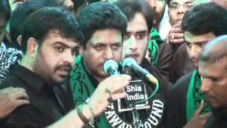 Ana Mazloom Hussain Anjuman-e-Al Abbas 8th Muharram Mataam At Bargah 1433-2011-12