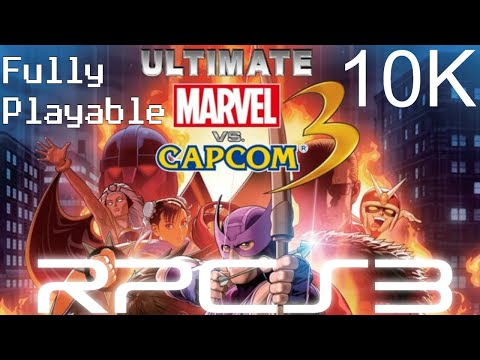 |-10k-|-ultimate-marvel-vs-capcom-3-|-rpcs3-|-fully-playable-60fps-|-note-:-can't-hit-60-in-10k-|