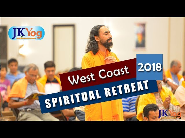 Glimpses of West Coast Spiritual Retreat 2018 - Days 2 & 3