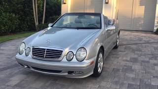 2001 Mercedes-Benz CLK320 Convertible Review and Test Drive by Auto Europa Naples MercedesExpert com