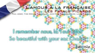 """Les Fatals Picards - """"L'amour À La Française"""" (France) - [Instrumental version]"""