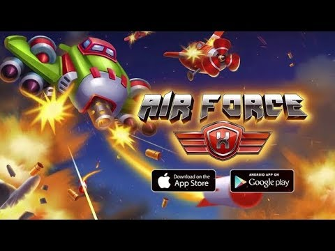 Airforce X - Space Shooter Wars Android Gameplay (Beta Test)