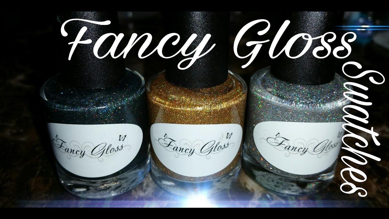 Fancy Gloss Pixie Trio Swatches - YouTube