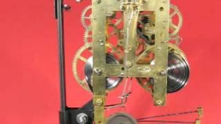Movement Of Sessions 1938 Tambour Mantel Clock