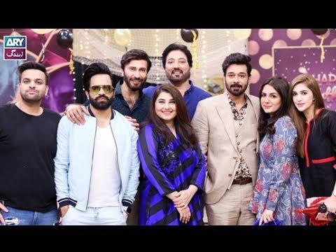 """Ab to Peena Paray ga"" played by Faysal Qureshi,Sana Faysal,Aijaz Aslam & Aadi"