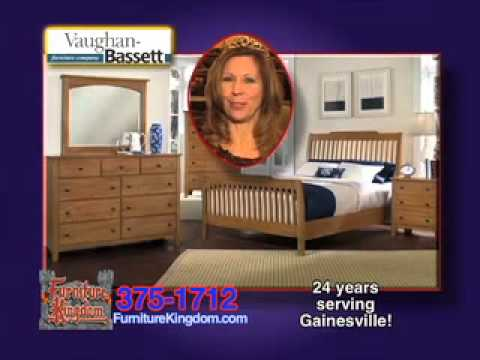 Furniture Kingdom Vaughan Bassett TV Ad