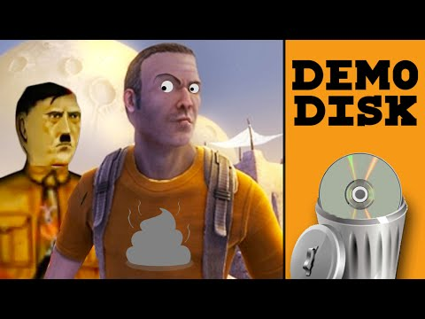 HITLER IS ALIVE?!? - Demo Disk Gameplay