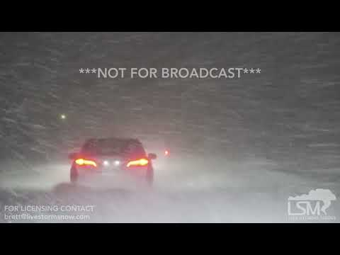 12-31-2017 Holland, MI New Years Eve extreme lake effect snow