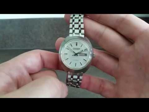 1971 Citizen 21 jewel automatic vintage watch