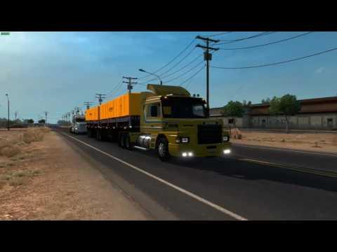 Demonstração - Scania 113H + Bitrem Guerra Articulado no ATS! TOP