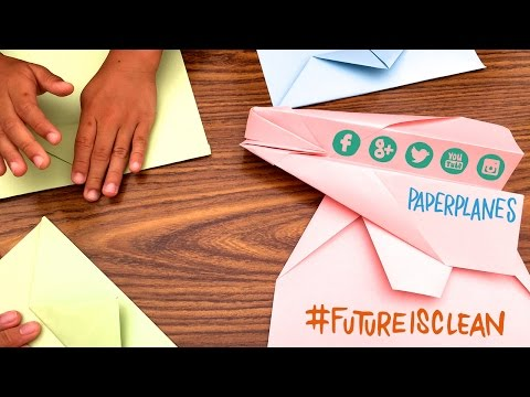 #futureisclean - A Paper Plane Going #RTW Episode 6 - Solar Impulse Airplane
