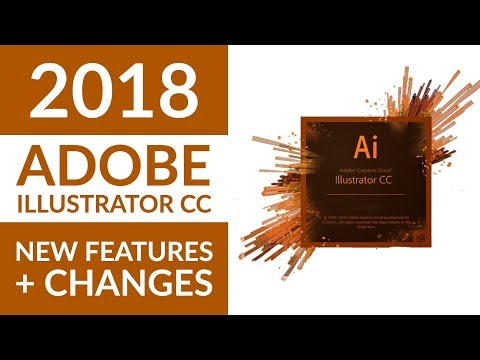 New Adobe Illustrator CC 2018 Features