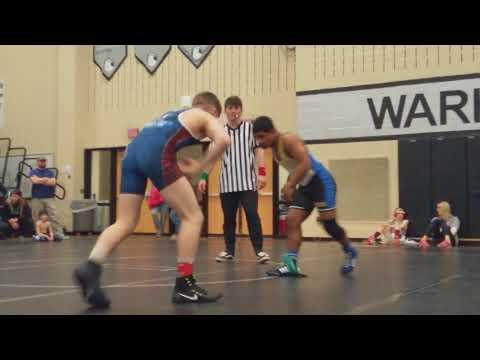 Nick Ifju 138 Westerville Central High School Open Tournament Match #1 3/11/18