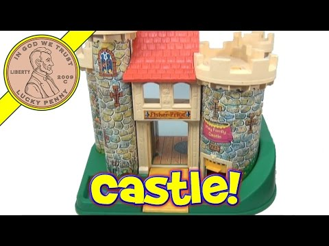 Vintage 1974 Fisher-Price Little People Play Family Castle Playset #993