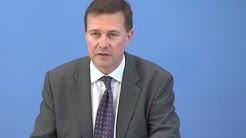 Corona-Krise: Regierungspressekonferenz mit Steffen Seibert