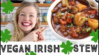 Vegan Irish Stew - Quick and Easy Stew Recipe Video