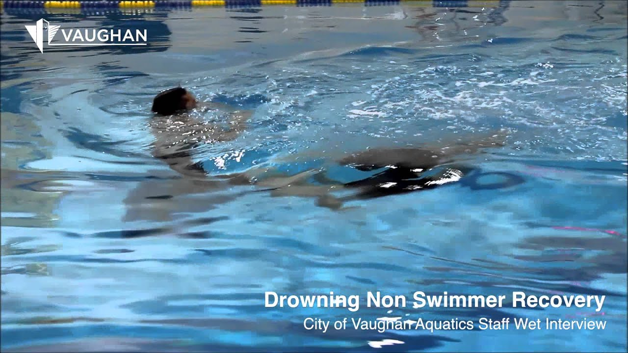 Video: Drowning Non Swimmer Recovery