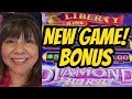 NEW GAME LIBERTY LINK DIAMOND BURST   WHALES OF CASH