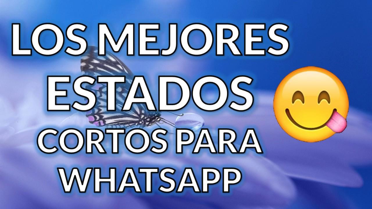 Estados Cortos Para Whatsapp Frases De Amor Estados