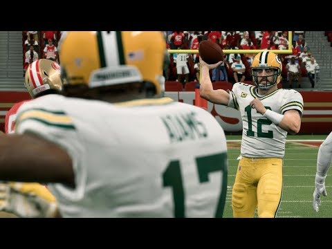 NFL Today 1/19 Green Bay Packers Vs San Francisco 49ers | 2020 NFC Championship (Madden)