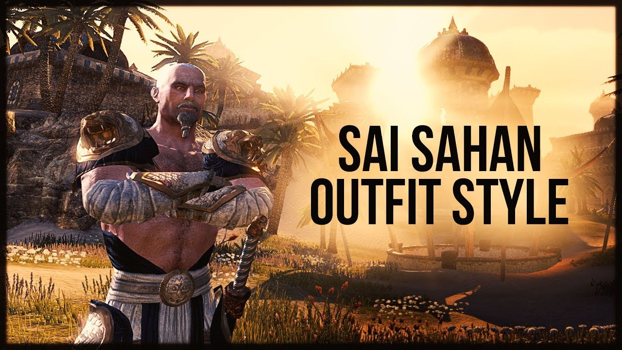 ESO Sai Sahan Outfit Style - Anniversary Jubilee Event