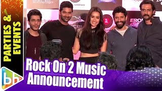 Cover images Rock On 2 Music Announcement | Farhan Akhtar | Shraddha Kapoor | Arjun Rampal