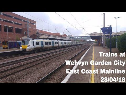 Trains at Welwyn Garden City, ECML | 28/04/18